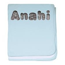 Anahi Wolf baby blanket