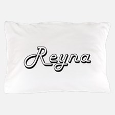Reyna Classic Retro Name Design Pillow Case