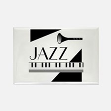 Love For Jazz - Rectangle Magnet