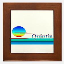 Quintin Framed Tile