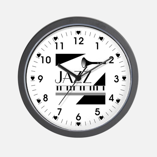 Love For Jazz - Wall Clock