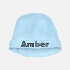 Amber Wolf baby hat