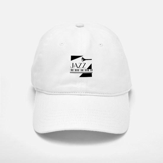 Love For Jazz - Baseball Baseball Cap