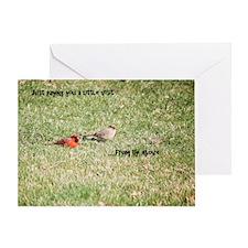 Heaven's Mesengers Greeting Card