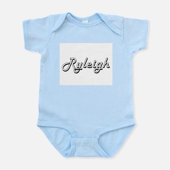 Ryleigh Classic Retro Name Design Body Suit