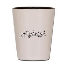 Ryleigh Classic Retro Name Design Shot Glass