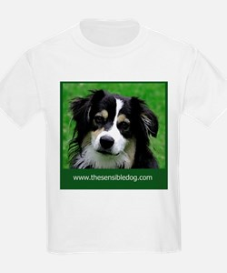 Cute Dog logos T-Shirt