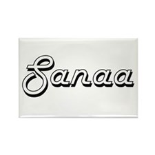 Sanaa Classic Retro Name Design Magnets