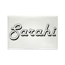 Sarahi Classic Retro Name Design Magnets
