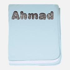Ahmad Wolf baby blanket