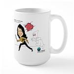 Danielle G Monferrato Large Mug Mugs