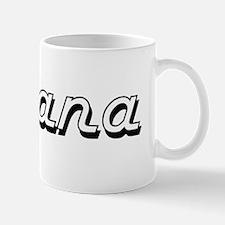 Savana Classic Retro Name Design Mug