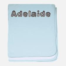 Adelaide Wolf baby blanket