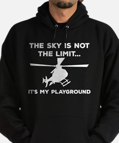 Sky Playground Helicopter Hoodie