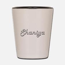 Shaniya Classic Retro Name Design Shot Glass