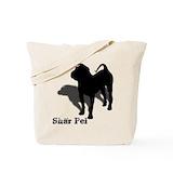 Shar pei Totes & Shopping Bags