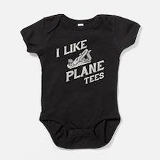 plane Baby Bodysuit