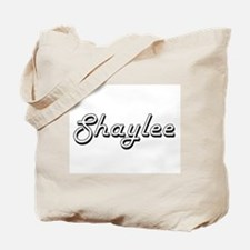 Shaylee Classic Retro Name Design Tote Bag