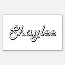 Shaylee Classic Retro Name Design Decal