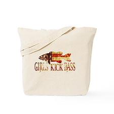 GIRLS KICK BASS Tote Bag