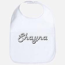 Shayna Classic Retro Name Design Bib