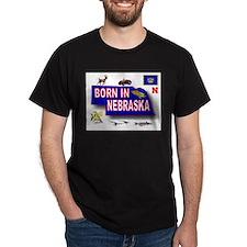 NEBRASKA BORN T-Shirt