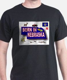 NEBRASKA BORN T-Shirt