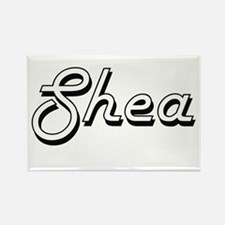 Shea Classic Retro Name Design Magnets