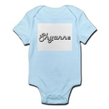 Shyanne Classic Retro Name Design Body Suit