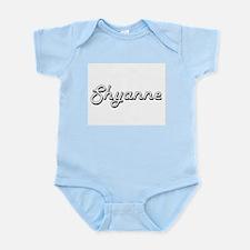 Shyanne Classic Retro Name Design Body Suit