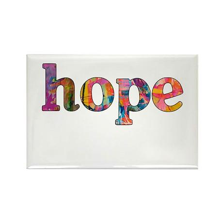 hope Rectangle Magnet (100 pack)