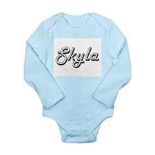 Skyla Classic Retro Name Design Body Suit
