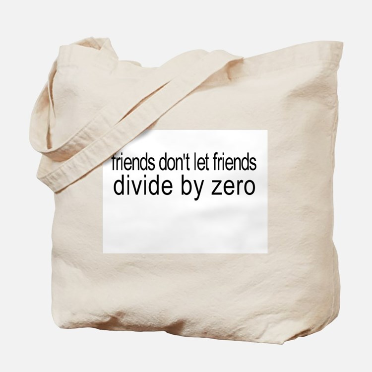 friends_divide by zero Tote Bag
