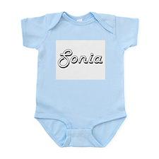 Sonia Classic Retro Name Design Body Suit