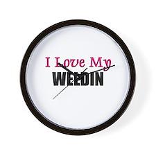 I Love My WELDIN Wall Clock