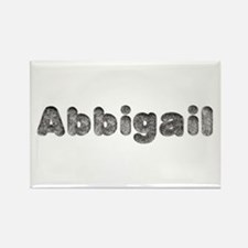 Abbigail Wolf Rectangle Magnet