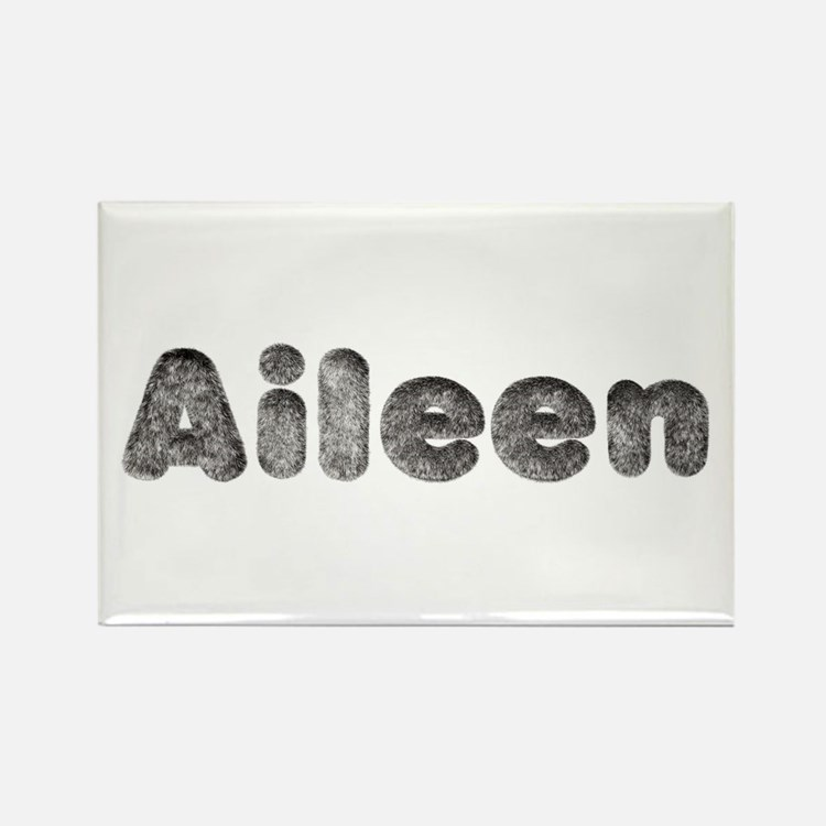 Aileen Wolf Rectangle Magnet