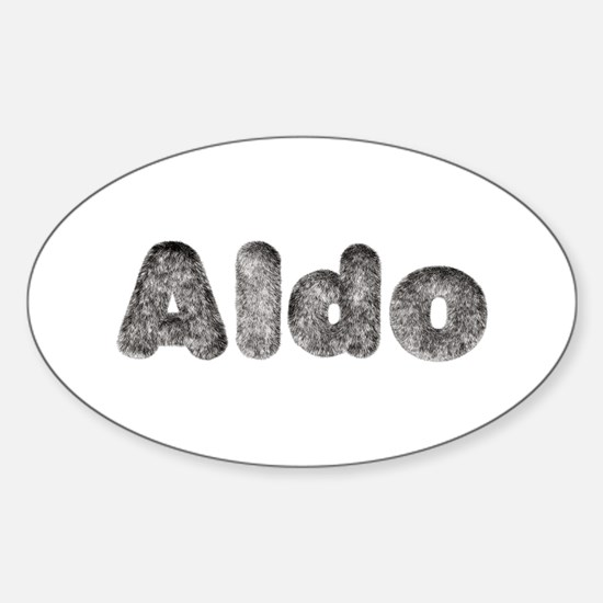 Aldo Wolf Oval Decal