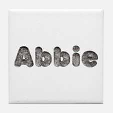Abbie Wolf Tile Coaster