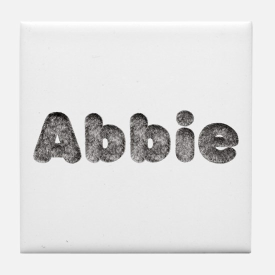 Abbie Wolf Tile Coaster