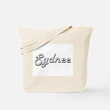 Sydnee Classic Retro Name Design Tote Bag