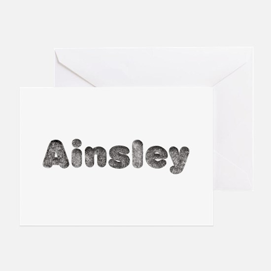 Ainsley Wolf Greeting Card