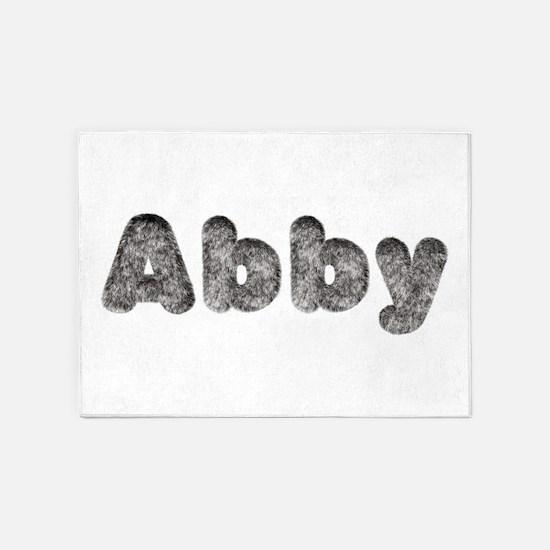 Abby Wolf 5'x7' Area Rug