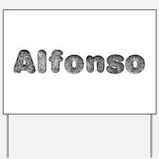 Alfonso Wolf Yard Sign