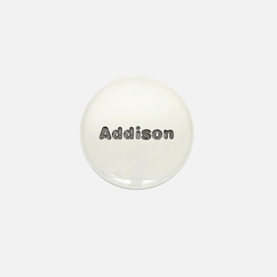 Addison Wolf Mini Button