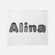 Alina Wolf Throw Blanket