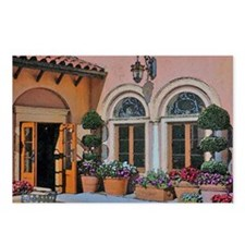 Flower Courtyard Postcards (Package of 8)