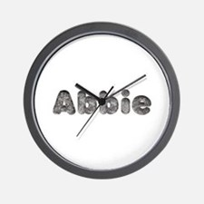 Abbie Wolf Wall Clock