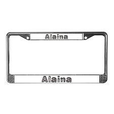 Alaina Wolf License Plate Frame