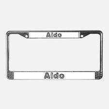 Aldo Wolf License Plate Frame